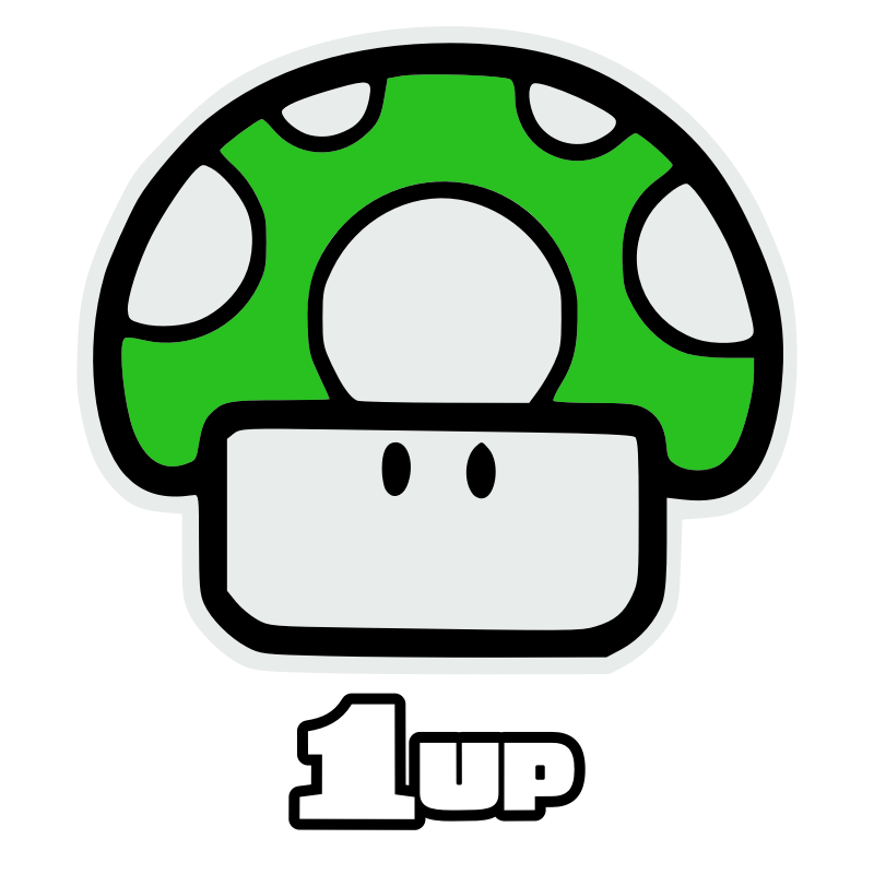 Clipart - one up