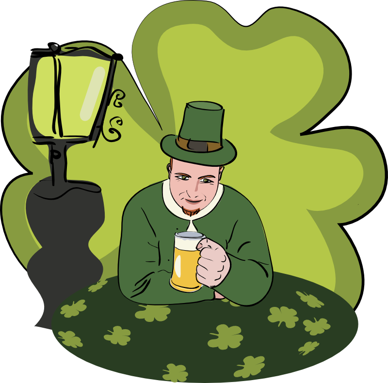Clipart - Happy St. Patrick Day