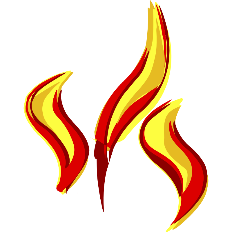 Clipart - flames