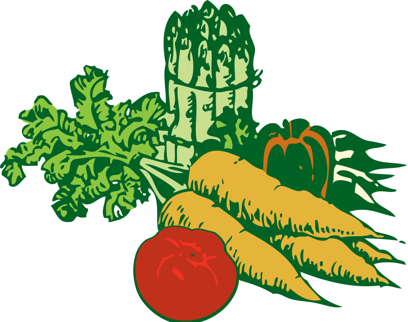 Fruits And Vegetables Clipart