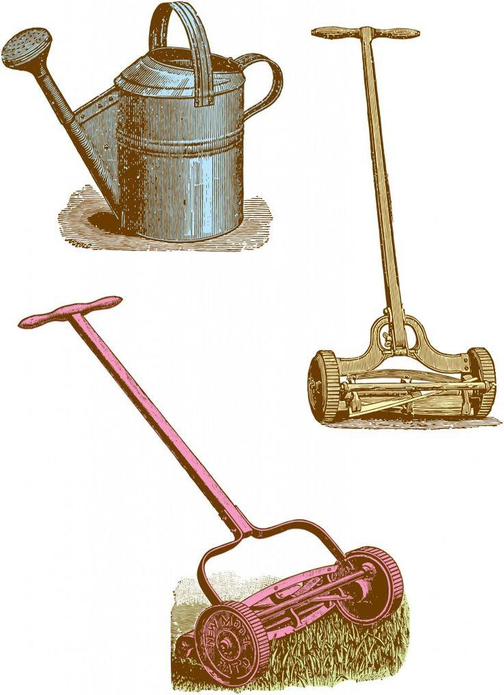clipart garden tools - photo #26
