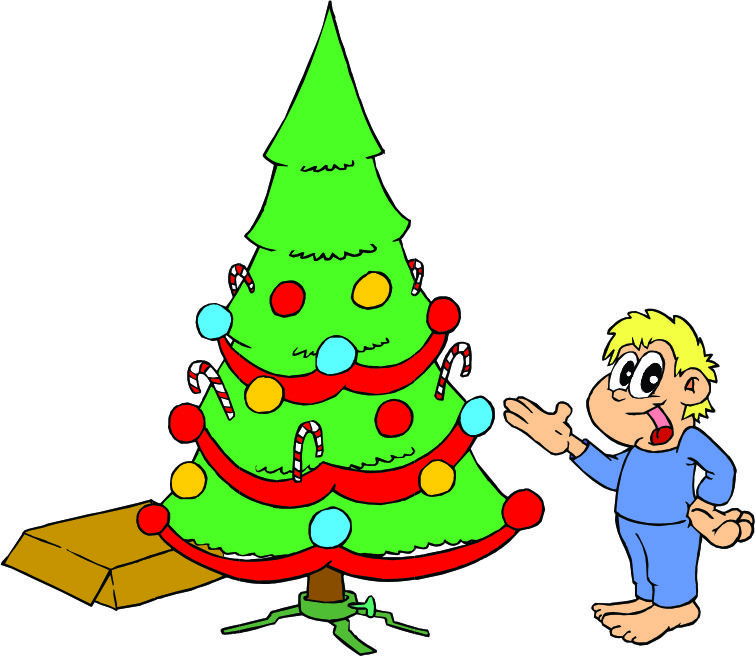 Cartoon Picture Of Christmas Tree