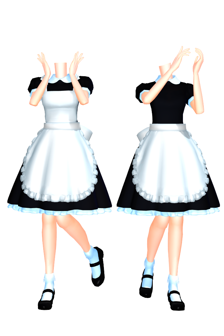 MMD Maid Set 2 DL By 2234083174 On DeviantART - Cliparts co