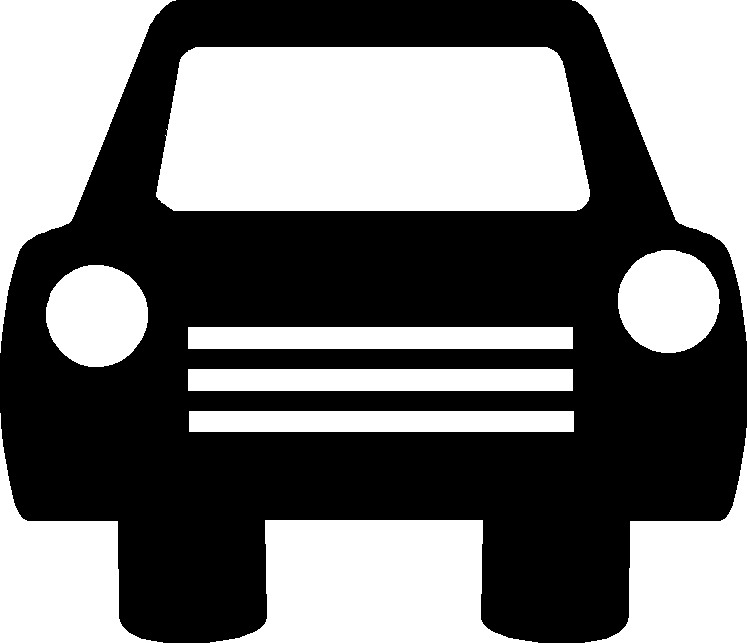 free clipart black and white car - photo #47