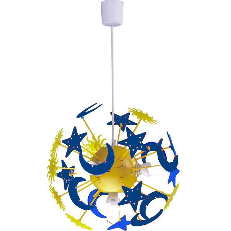 Pictures of blue stars - Star ceiling lights for kids ...