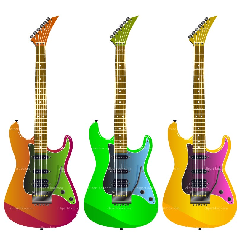 Electric Guitars Images - Cliparts.co