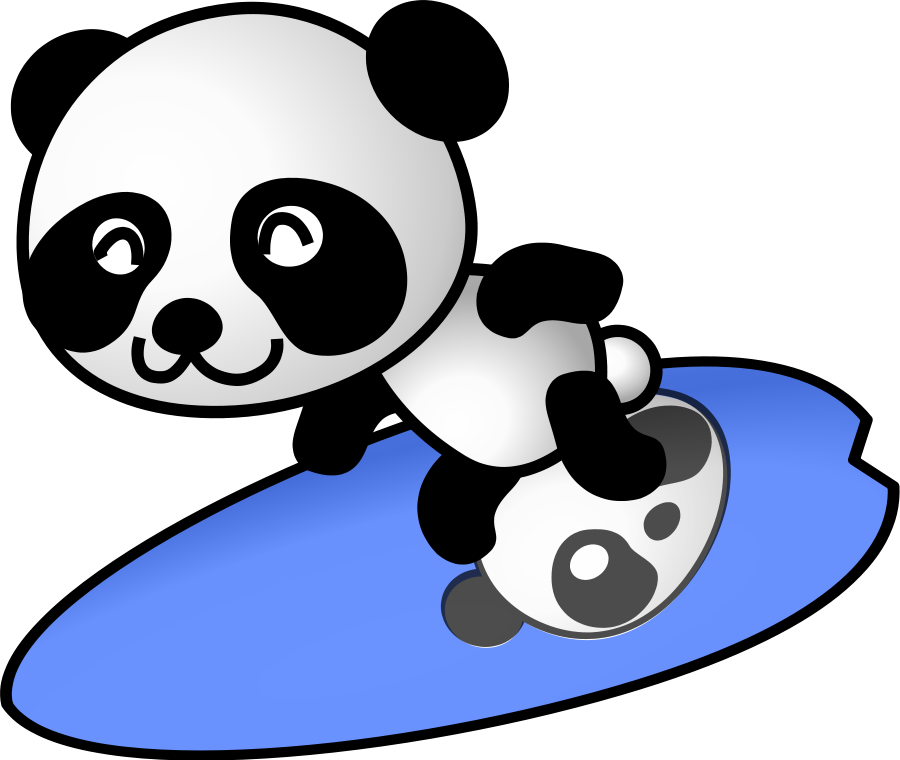 Tennis panda Clipart, vector clip art online, royalty free design ...: cliparts.co/tennis-court-clipart