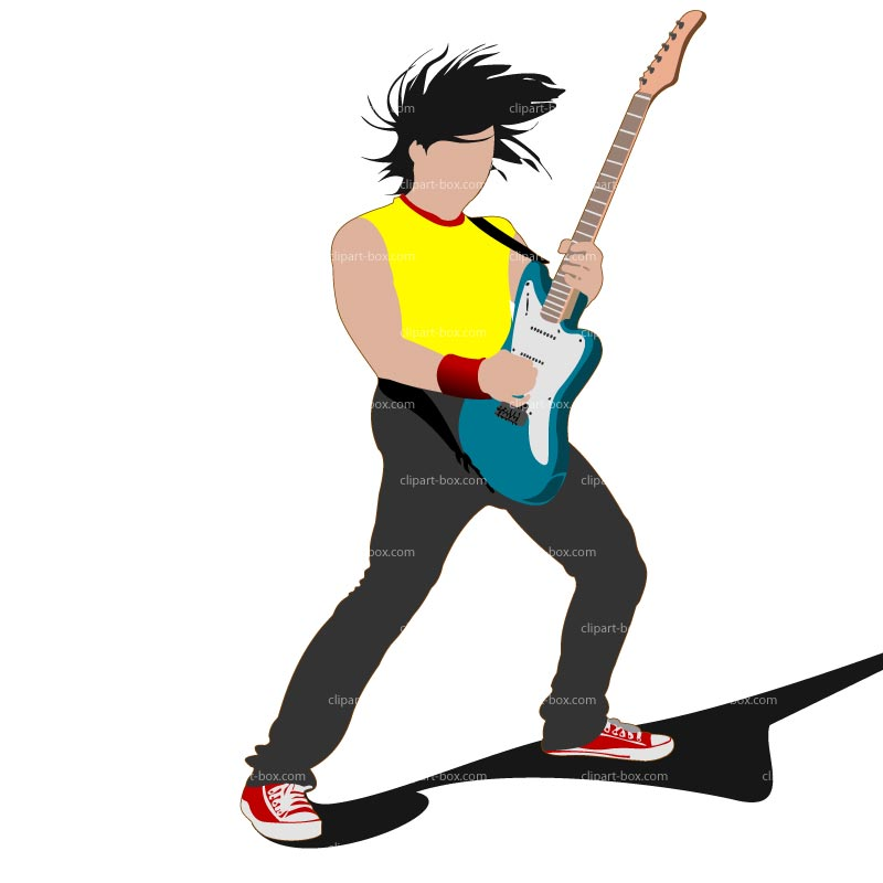 Rock And Roll Guitar Clip Art | Clipart Panda - Free Clipart Images
