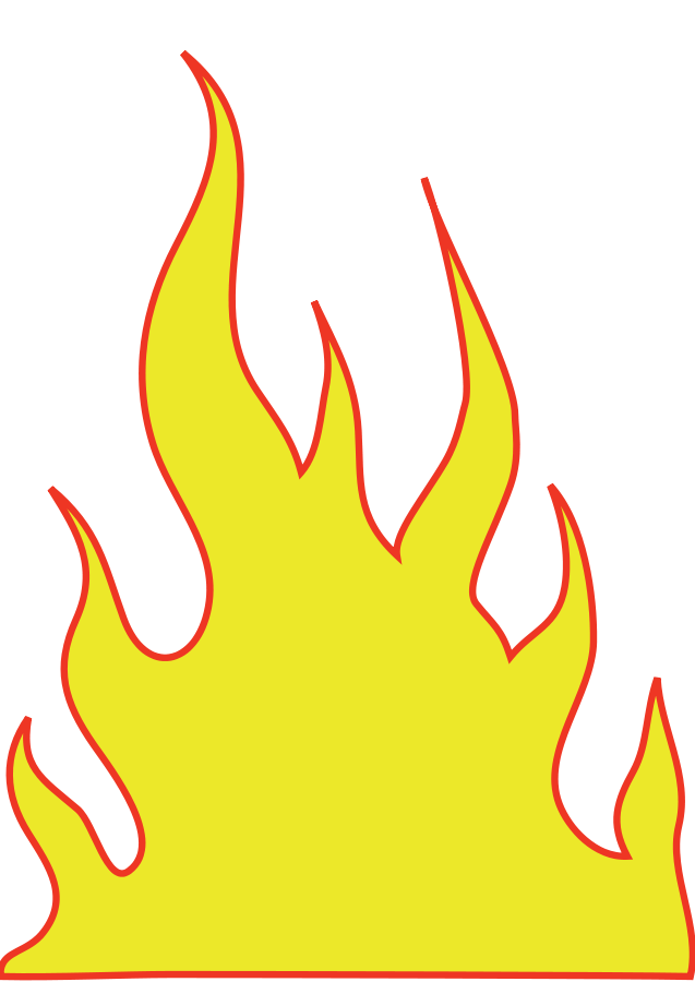 clipart flames of fire - photo #46