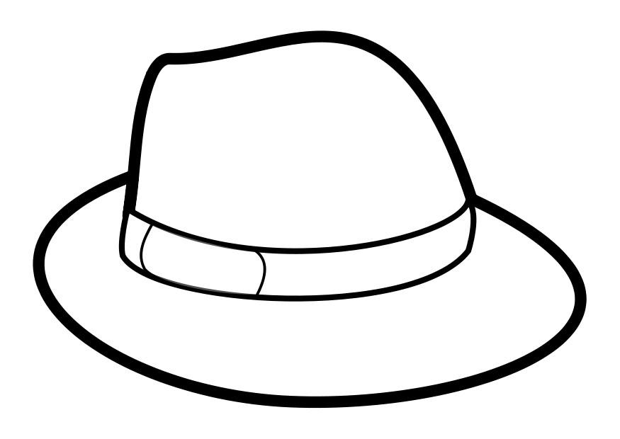 free sombrero coloring pages - photo#25