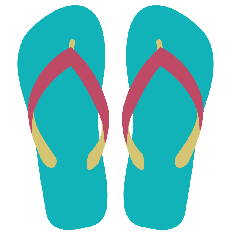 Free to Use & Public Domain Sandals Clip Art