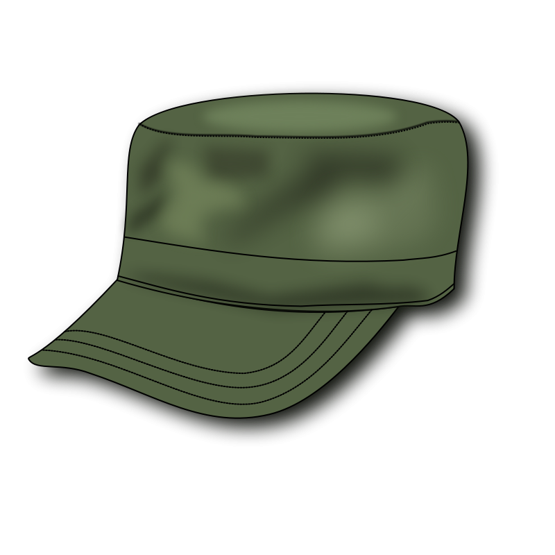 Free Army Hat Clip Art