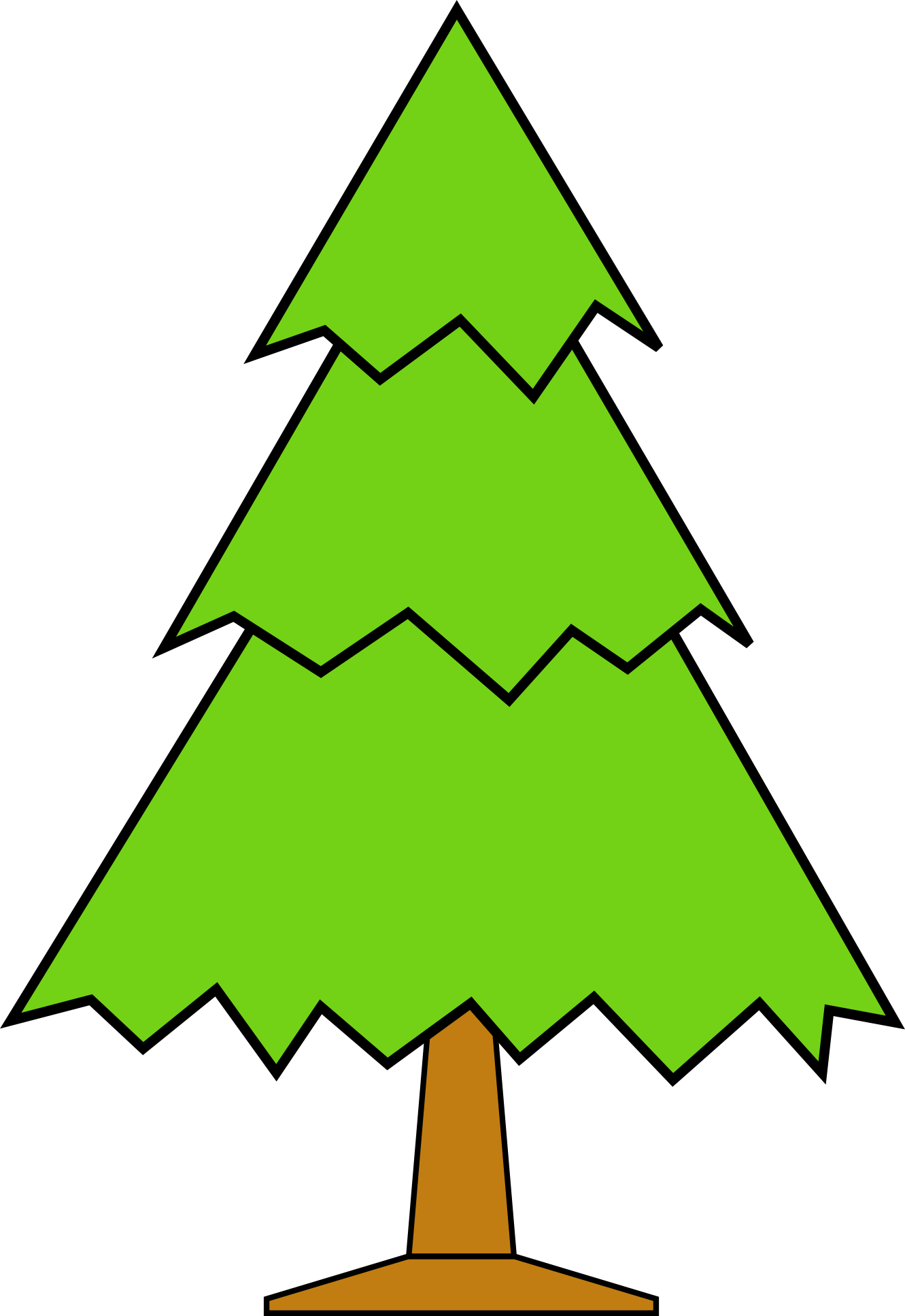 Clipart Christmas Trees - Cliparts.co