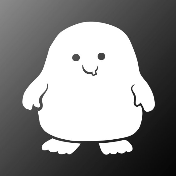 Adipose Sticker Doctor Who Vinyl Decal by IMadeThisVinyl on Etsy