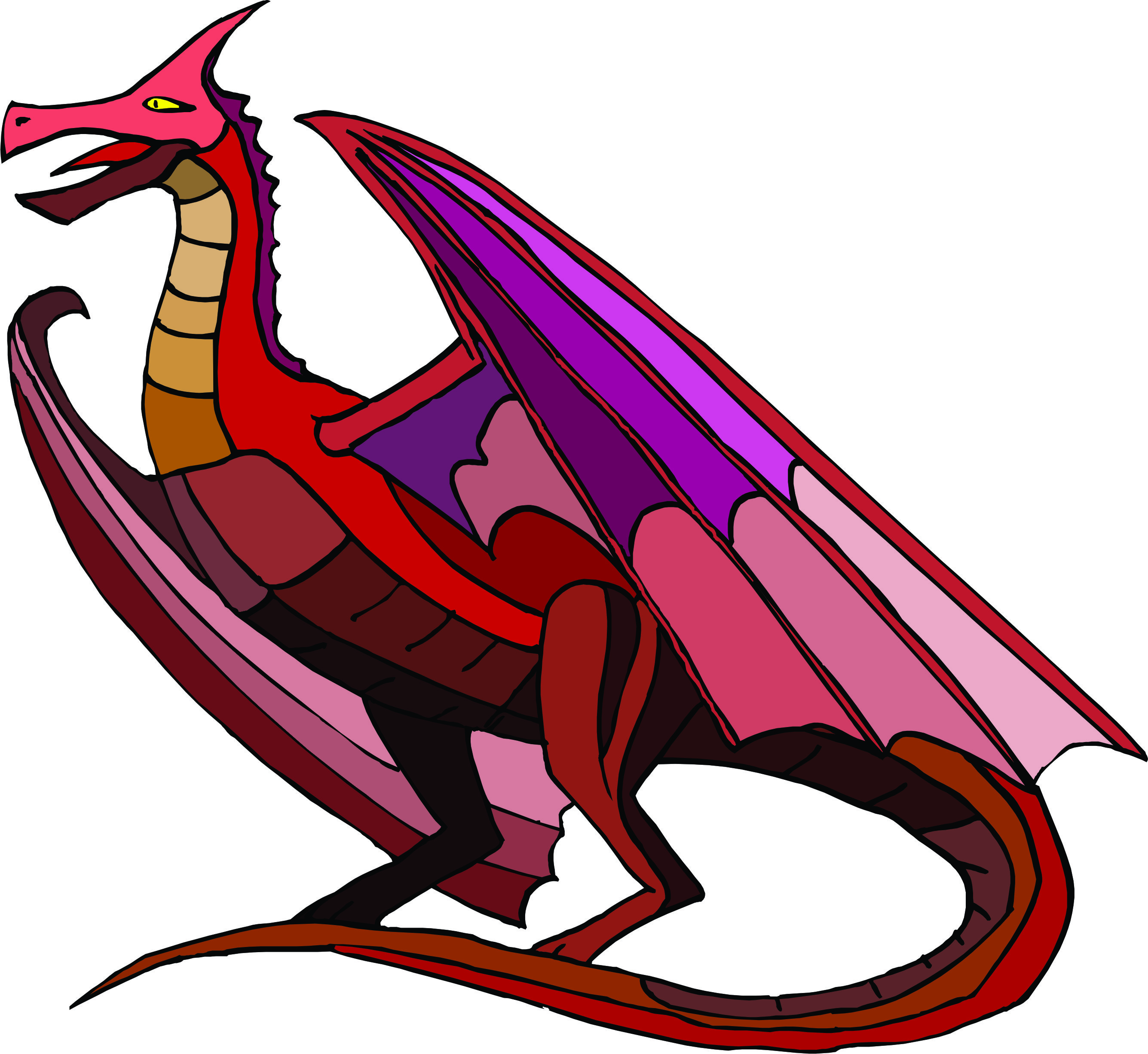 Cartoon Red Dragon Wallpaper From Dragons Wallpapers - ClipArt ...