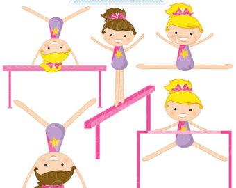 Gymnastics Clipart Tumbling | Clipart Panda - Free Clipart Images