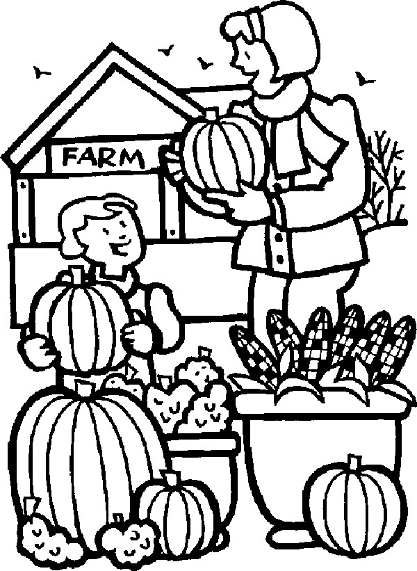 activity village coloring pages autumn - photo#10