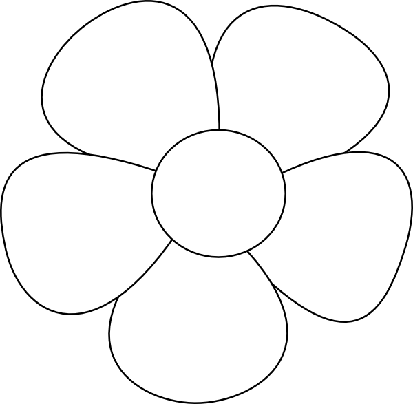 Flower Template Free Printable - Cliparts.co