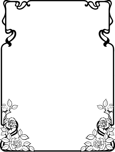Fall Border Clipart Black And White | Clipart Panda - Free Clipart ...