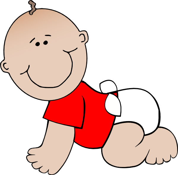 Crawling Cartoon Baby Boy Clipart Picture Royalty Free Clip ...