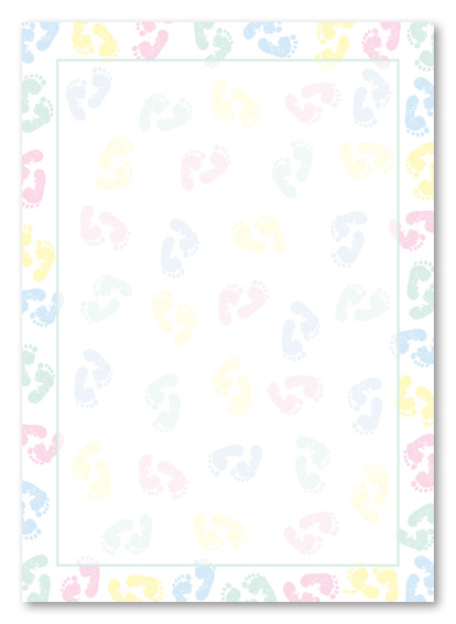 Unusual image for free printable baby borders for paper