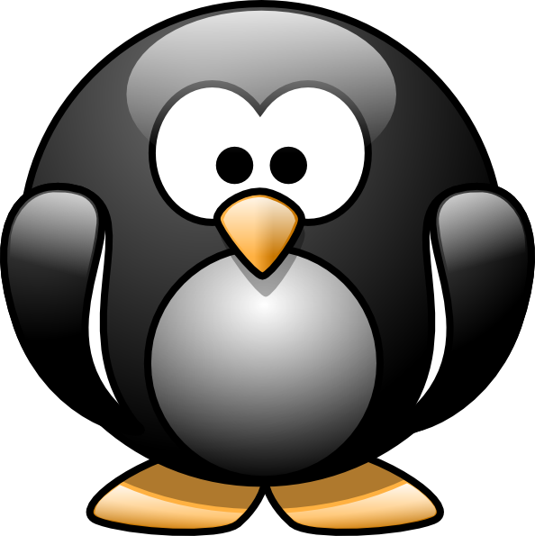 Cartoon penguin clip art vector clip art online royalty free