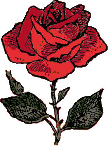 rose clip art sms - photo #24
