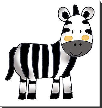 zebra baby clipart - photo #6