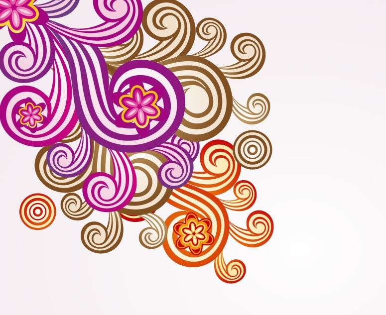 Floral Ornament Vector Art | Free Vector Graphics | All Free Web ...: cliparts.co/free-floral-vector-art