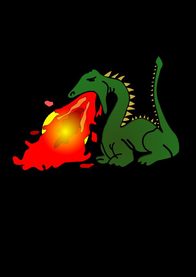 Dragon Vector - Cliparts.co