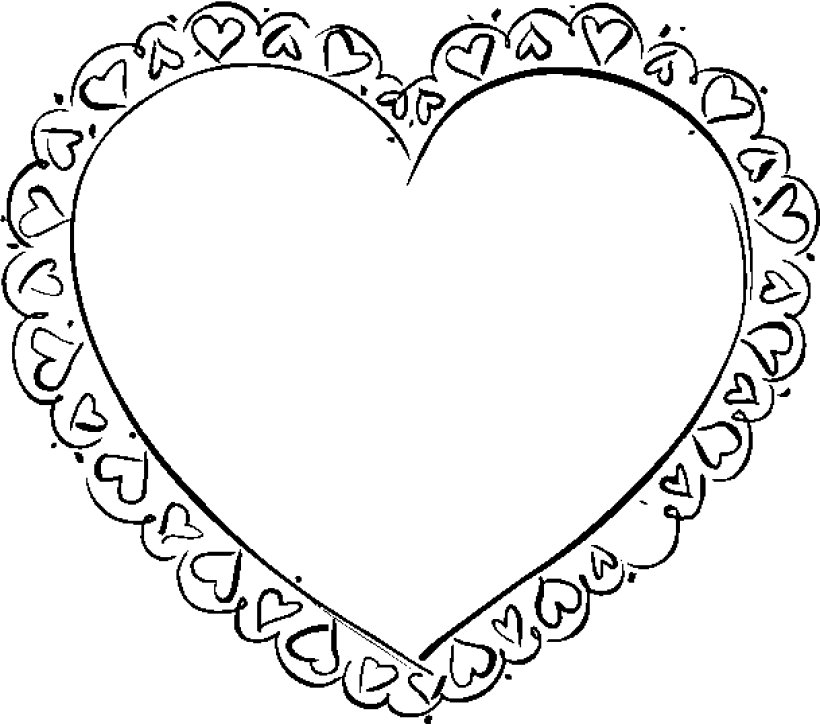 Holiday Coloring Pages valentine hearts coloring pages : Heart Coloring Pages Games : Coloring - Part 6