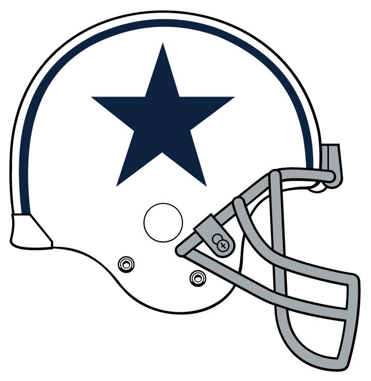 Dallas Cowboys Helmet Coloring Pages Dallas Cowboys Logo Coloring Page Printable