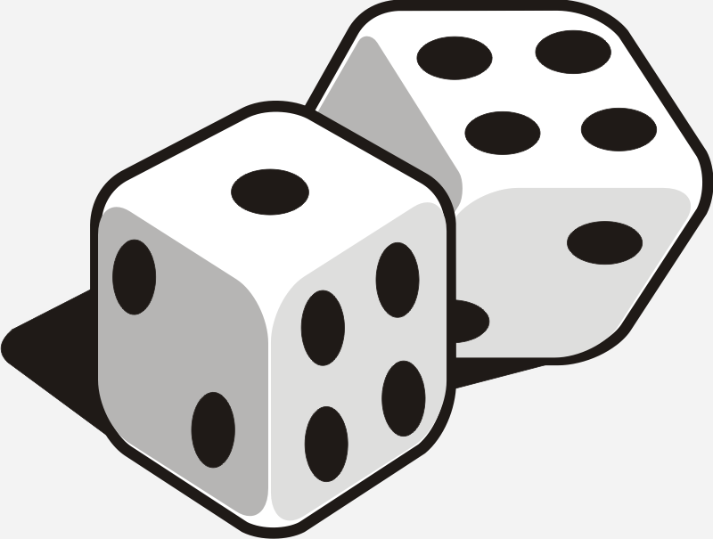 dice faces clipartsco