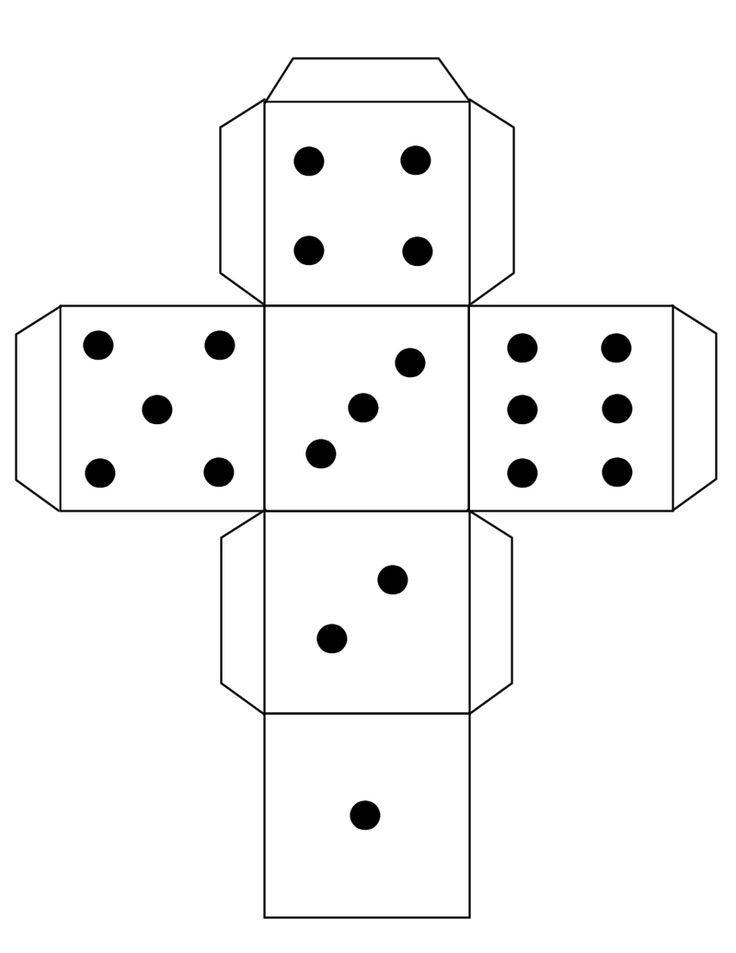 Refreshing image intended for printable dice template