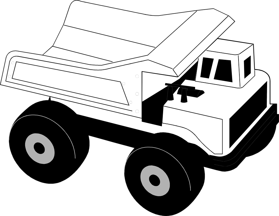 Free Stock Photos | Illustration of a toy dump truck | # 8051 ...