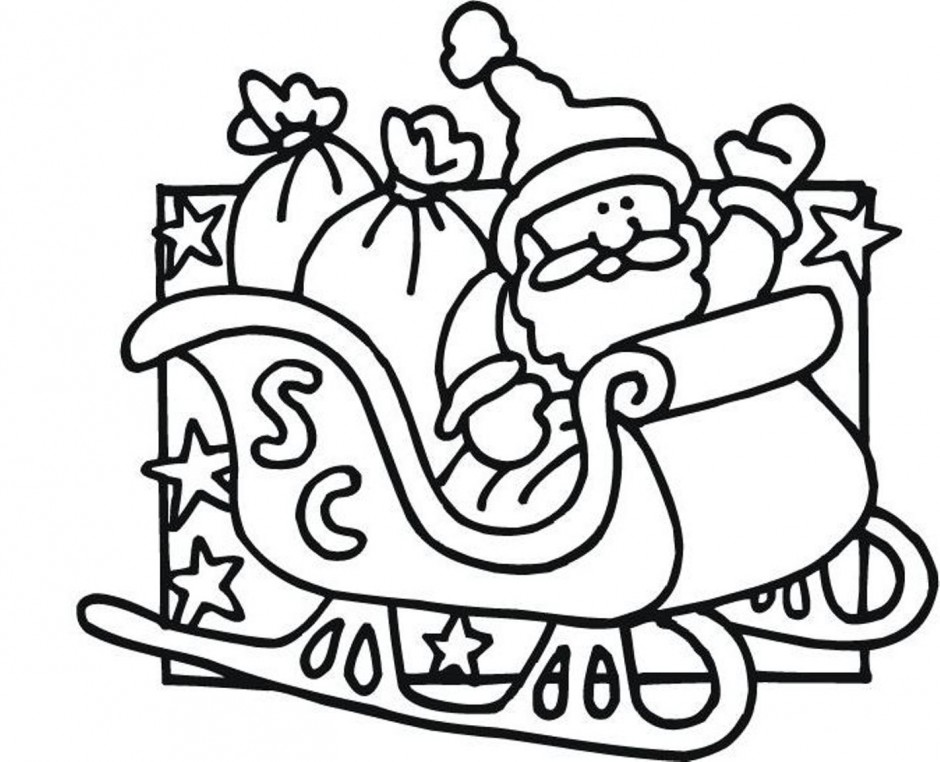 pictures of santa s sleigh