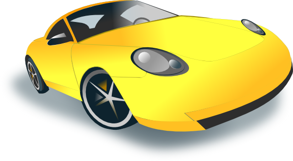 Sports Car Clipart Black And White | Clipart Panda - Free Clipart ...