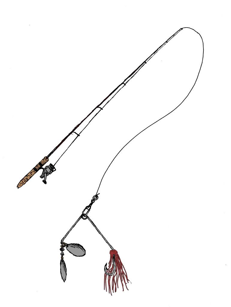 Fishing rod tattoo for Fishing rod clips