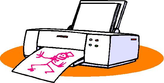 clipart printing  - photo #25