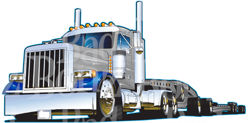 97 Mack Ch613 Trk 69476 together with 5928281513 as well 18 Wheeler Clip Art furthermore Kenworth truck pictures in addition 191726950226. on mack trucks and lowboy trailer