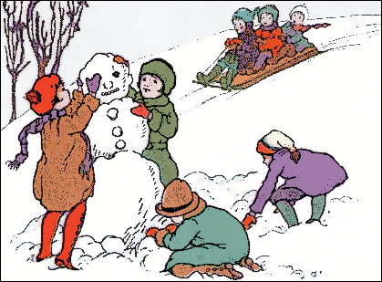 picture of a snowman clipartsco