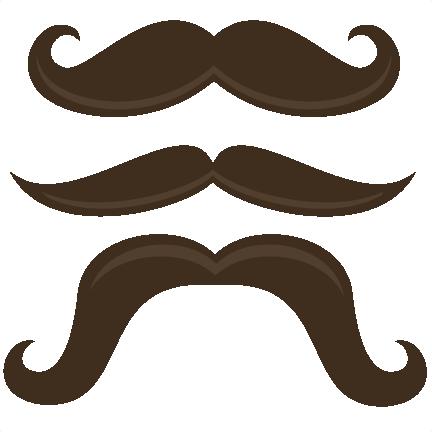 Mustache Clip Art No Background - Cliparts.co
