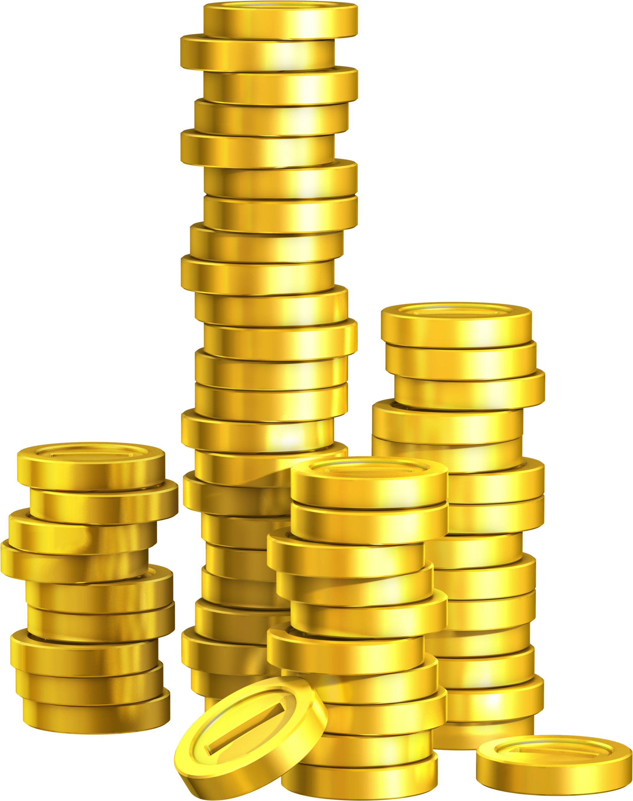 Trends For > Stack Of Gold Coins Png - Cliparts.co