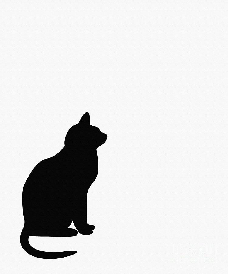 Black Cat Silhouette Clip Art