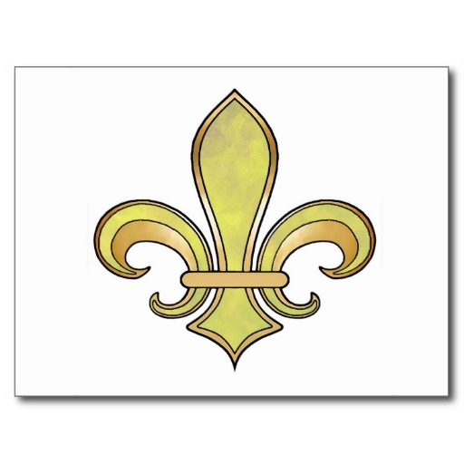 fleur de lis coloring pages - photo#30