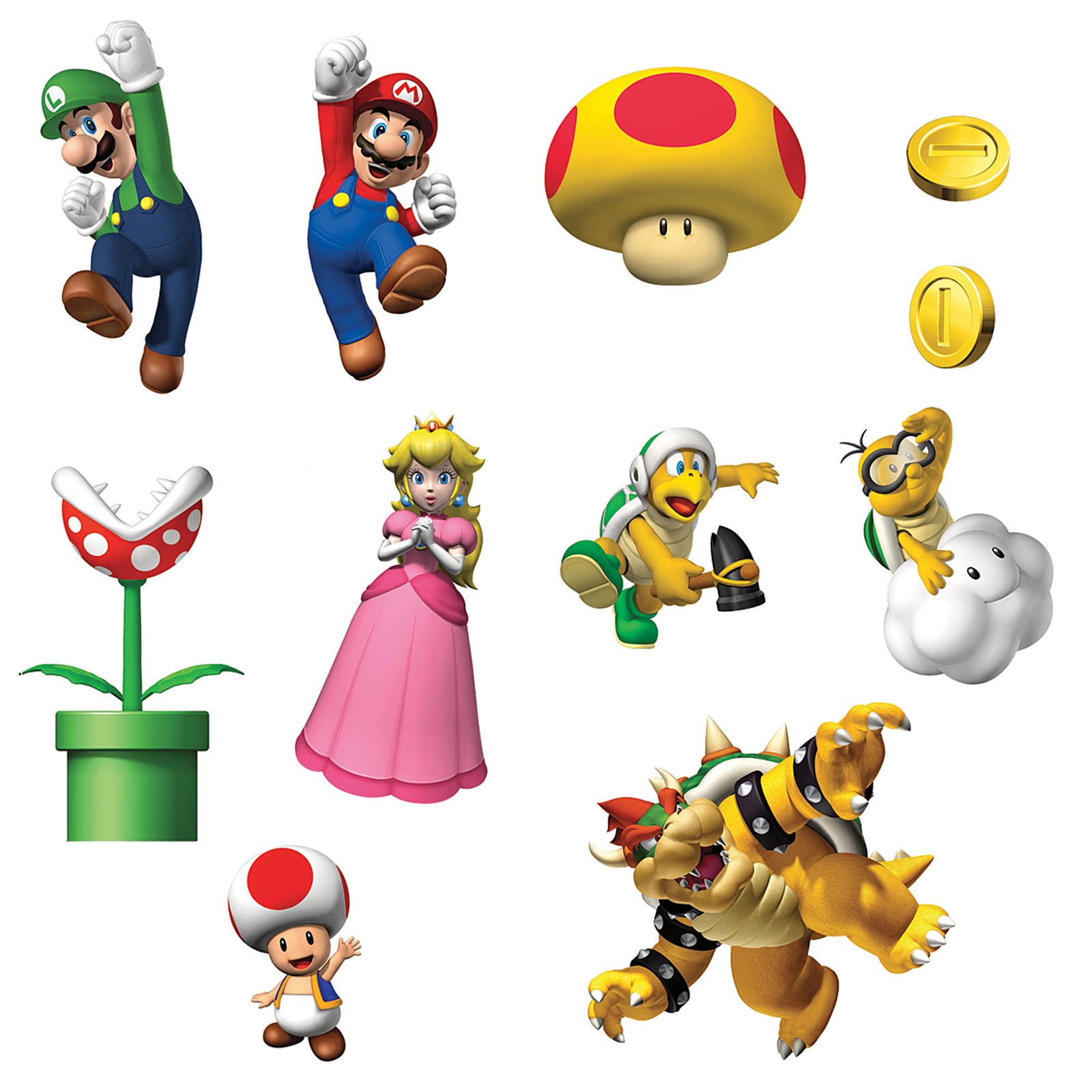 Free Super Mario Printable Stickers Eclark Ltd Home - ClipArt Best ...