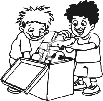 Pick Up Toys Clipart - Cliparts.co