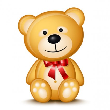 Valentine day teddy bear Free vector for free download (about 4 ...