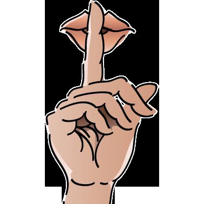 Shh Sign Clip Art - ClipArt Best - ClipArt Best