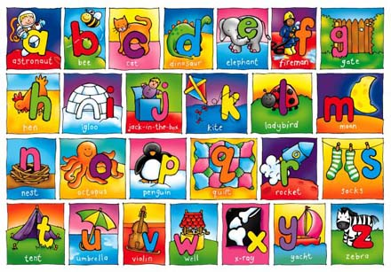 letters of the alphabet lol